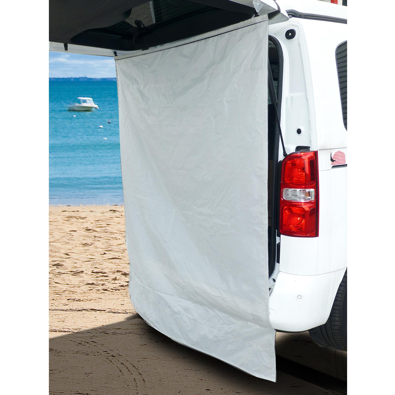 Duschvorhang für Heckzelte - passend für fast alle Campingbusse & Vans